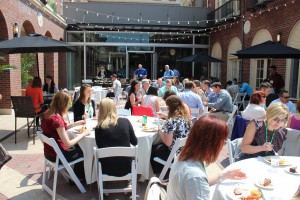 Thursday lunch attendees