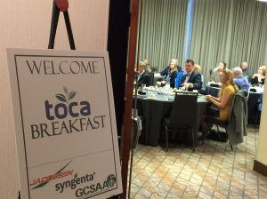 TOCA Breakfast at GIS, San Antonio, Texas in February 2018.